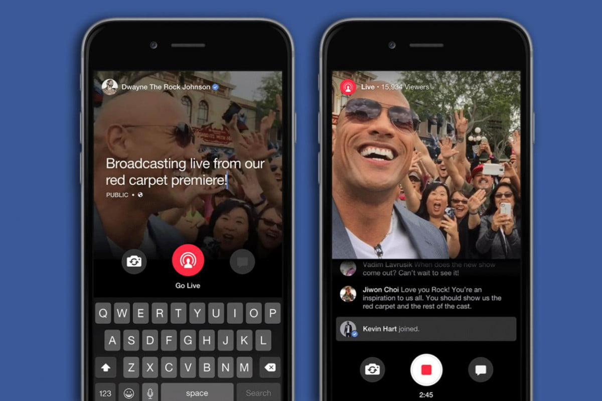 facebook launches live streaming feature but for celebs only
