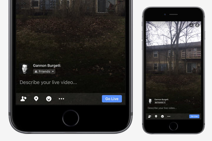 how to use facebook live on android