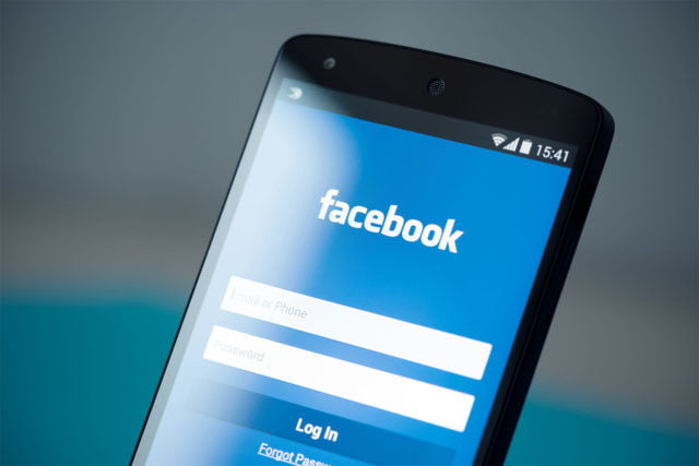 facebook authentic news feed login smartphone