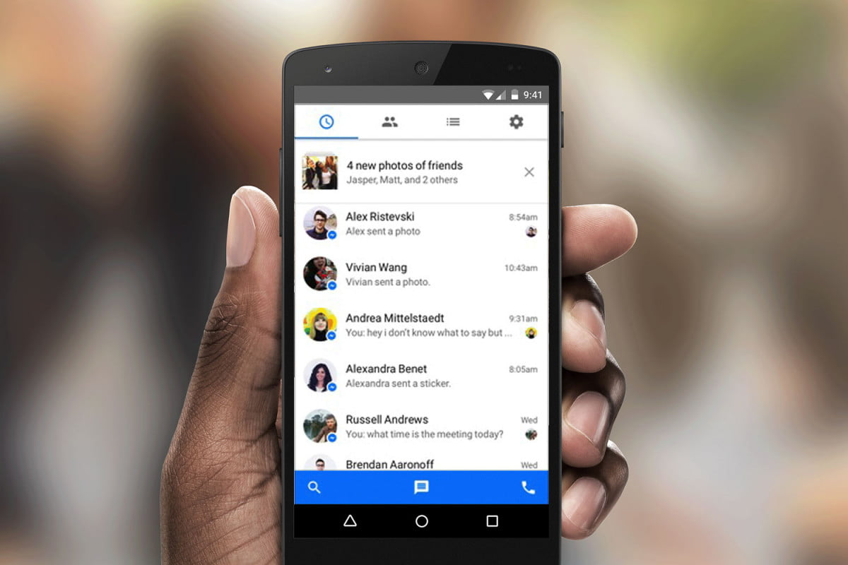facebook may bring back sms to messenger also adds multiple account support holiday update