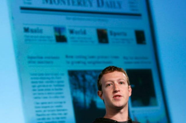 facebook twitter social web impact consume news feed