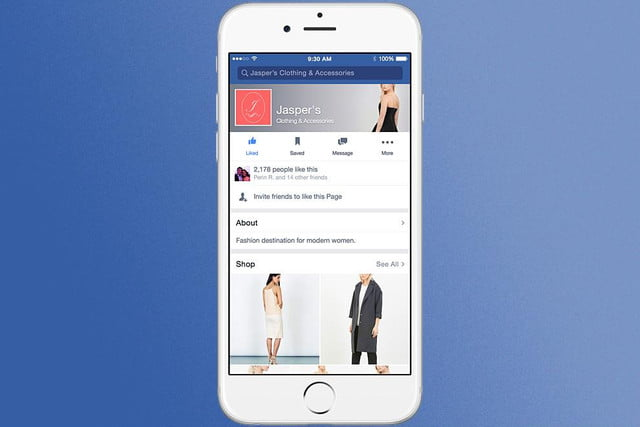facebook testing digital stores within site as part of e commerce push online