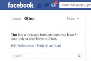 facebook other inbox
