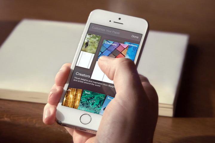 facebook paper review hands on customize