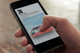 Facebook Paper hands on sharing