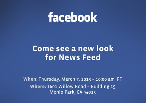 facebook press event newsfeed