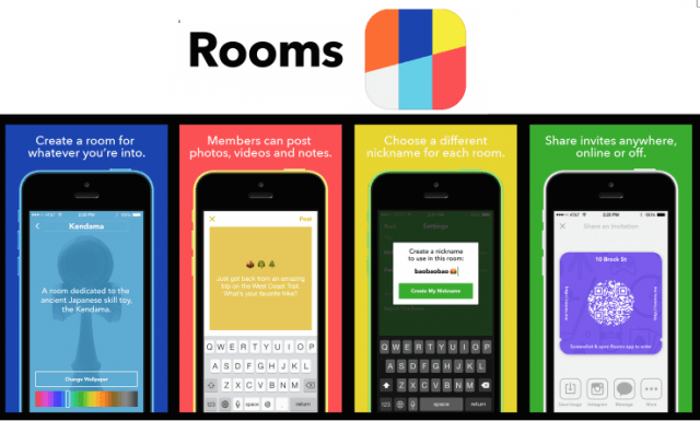 facebook launches rooms ios anonymous chatroom app