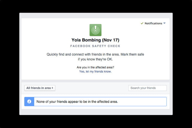facebook safety check will be user activated yola