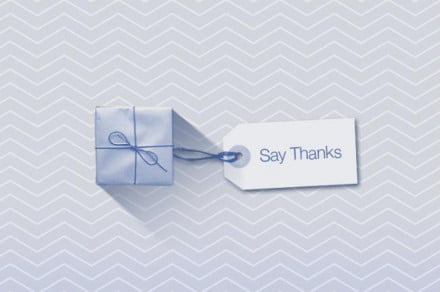 facebook say thanks video card