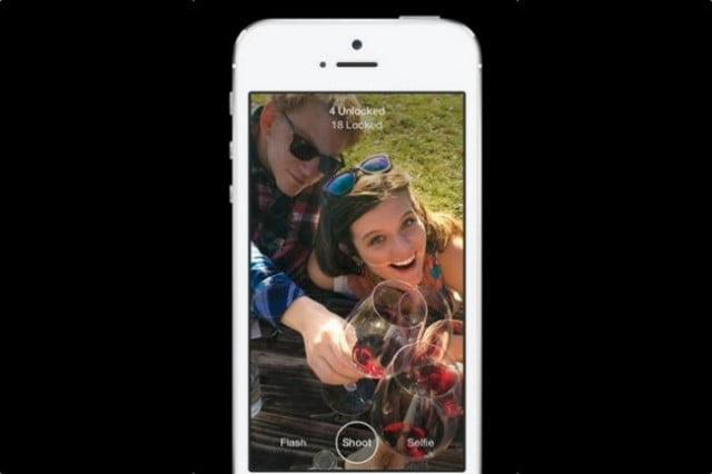 facebook launches slingshot app screen shot