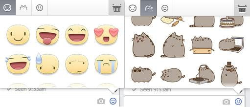 facebook stickers new