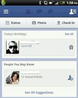 facebook people you may know module