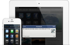 Apple iOS 6 Facebook Gallery Status