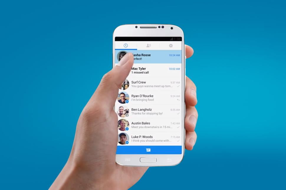 facebook messenger hits  m users