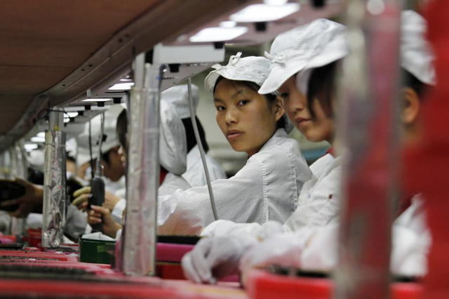 apple bans use two chemicals iphone assembly factory personnel