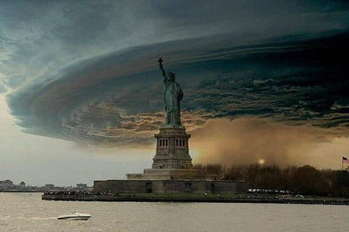 fake hurricane sandy photo