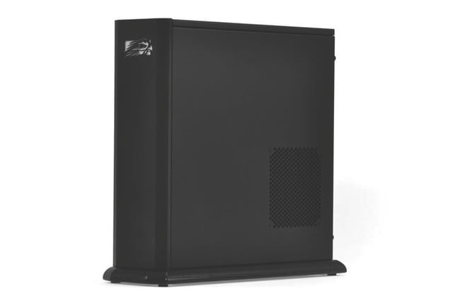falcon northwest tiki review front angle gaming pc tower