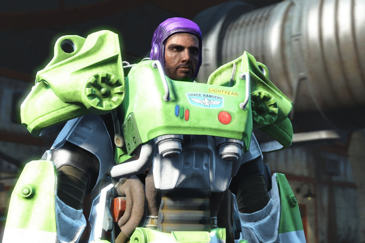 fallout  for pc gets mod support in april consoles soon after danse buzz lightyear