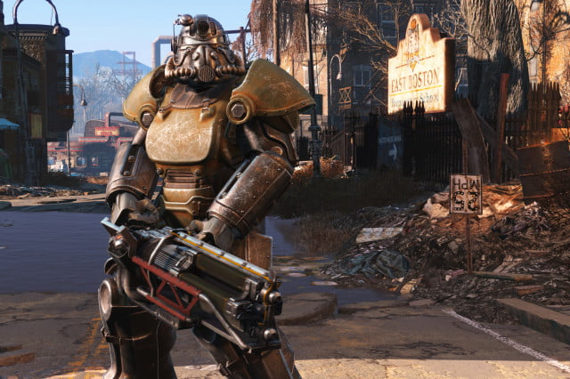 bethesda spoils creation engine improvements ahead of fallout  launch graph