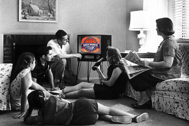 how to watch march madness family watching