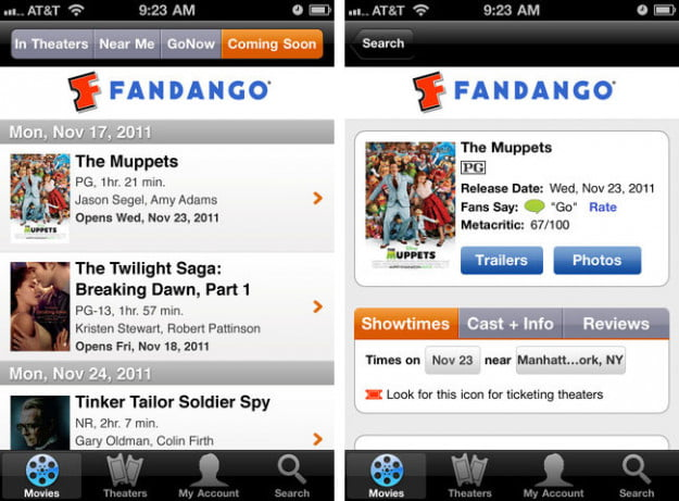 fandango-ipod-touch-app-screenshot