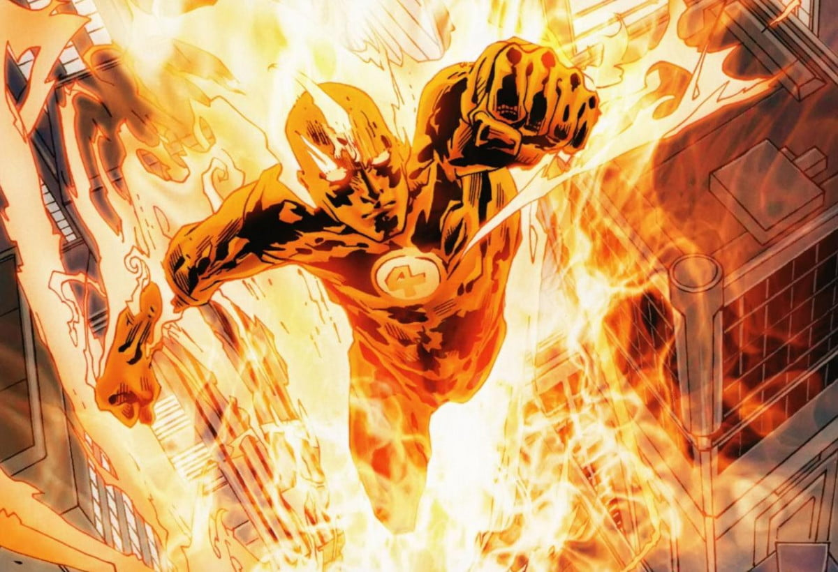 michael b jordan describes gritty new look fantastic four human torch