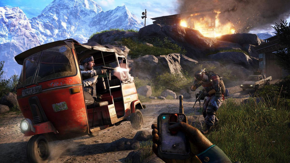 check far cry  afternoon twitch preview