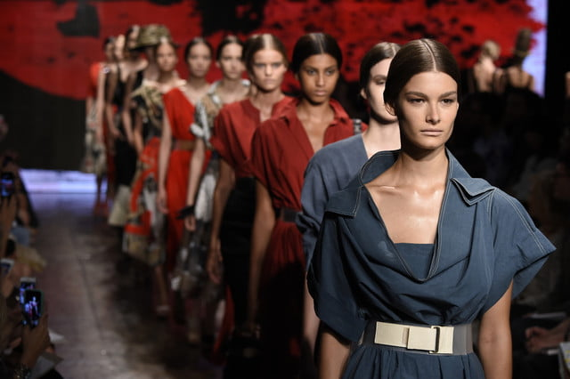 dont know what to wear tonight a machine algorithm can tell you whats in fashion week  vision