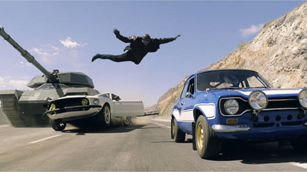 Fast & Furious 6 screen shot