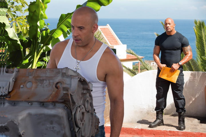 fast furious  review vin diesel the rock