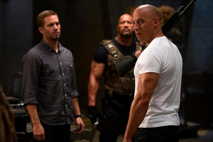 fast furious  review vin diesel the rock walker