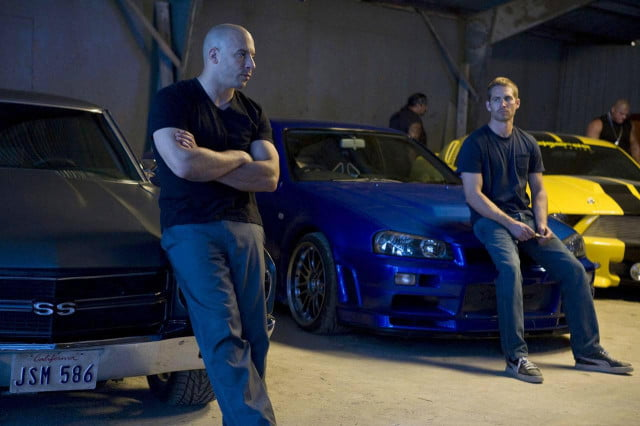 fast furious  use paul walkers scenes character will retired and vin diesel walker