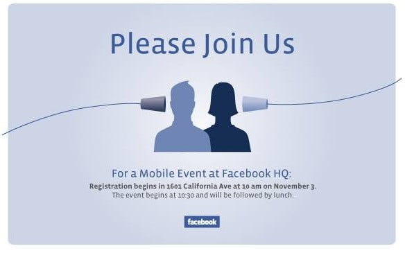 Facebook Mobile Event