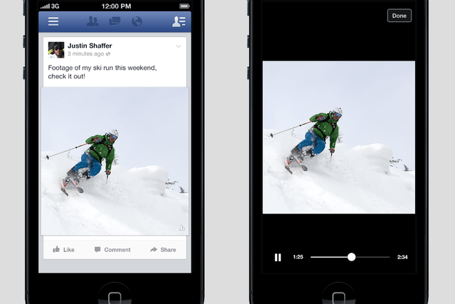facebook tests video auto play meaning ads are creeping closer to reality fb