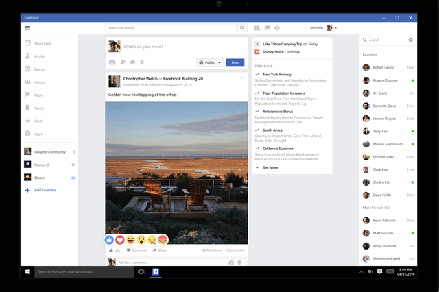 you can now use facebook live on your windows  desktop or tablet