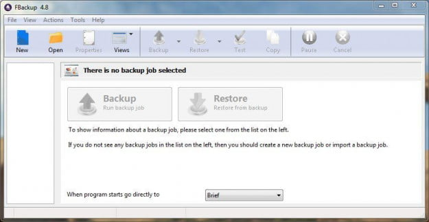 FBackup Screenshot