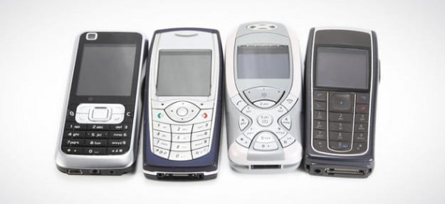feature phones cellphones