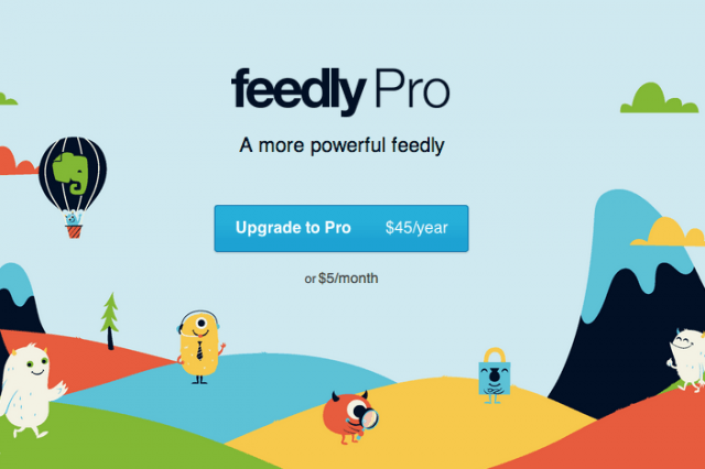 feedly pro now available with searching feature upgrade