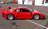 Apart from the wing, the F40 doesn't look much different from other Ferraris of the era.