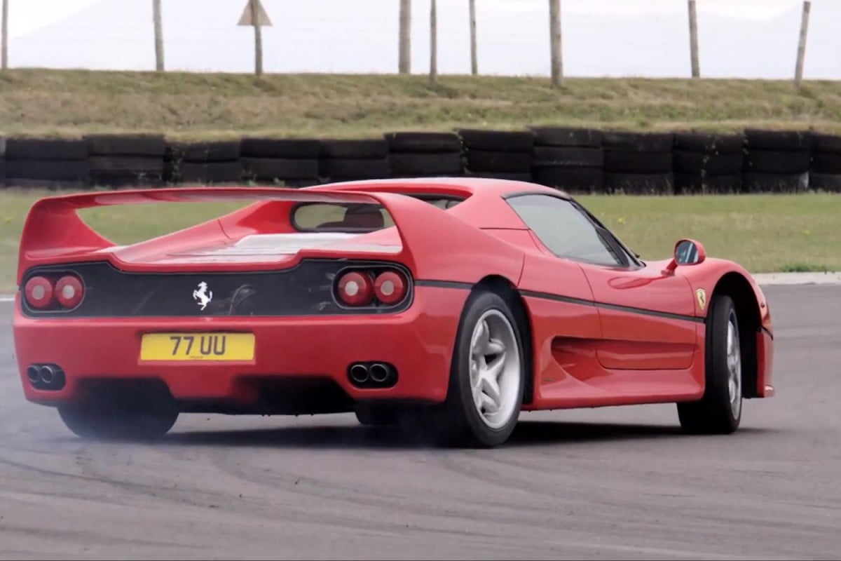 video rarefied ferrari f  and hit the track for a proper thrashing ferraritrackdrivemain