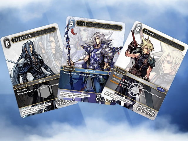 final fantasy tcg hits north america in october fftcg