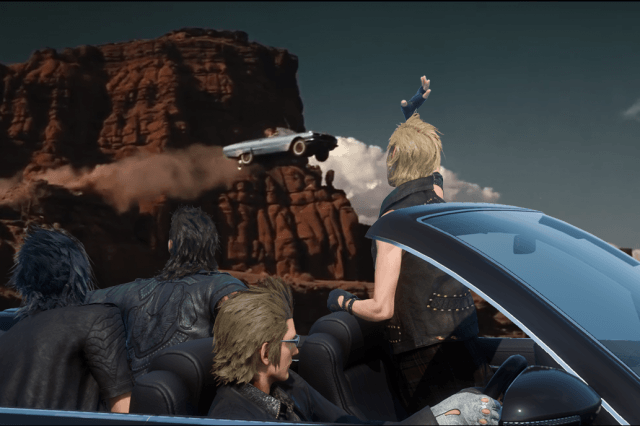 FFXV thelma and louise