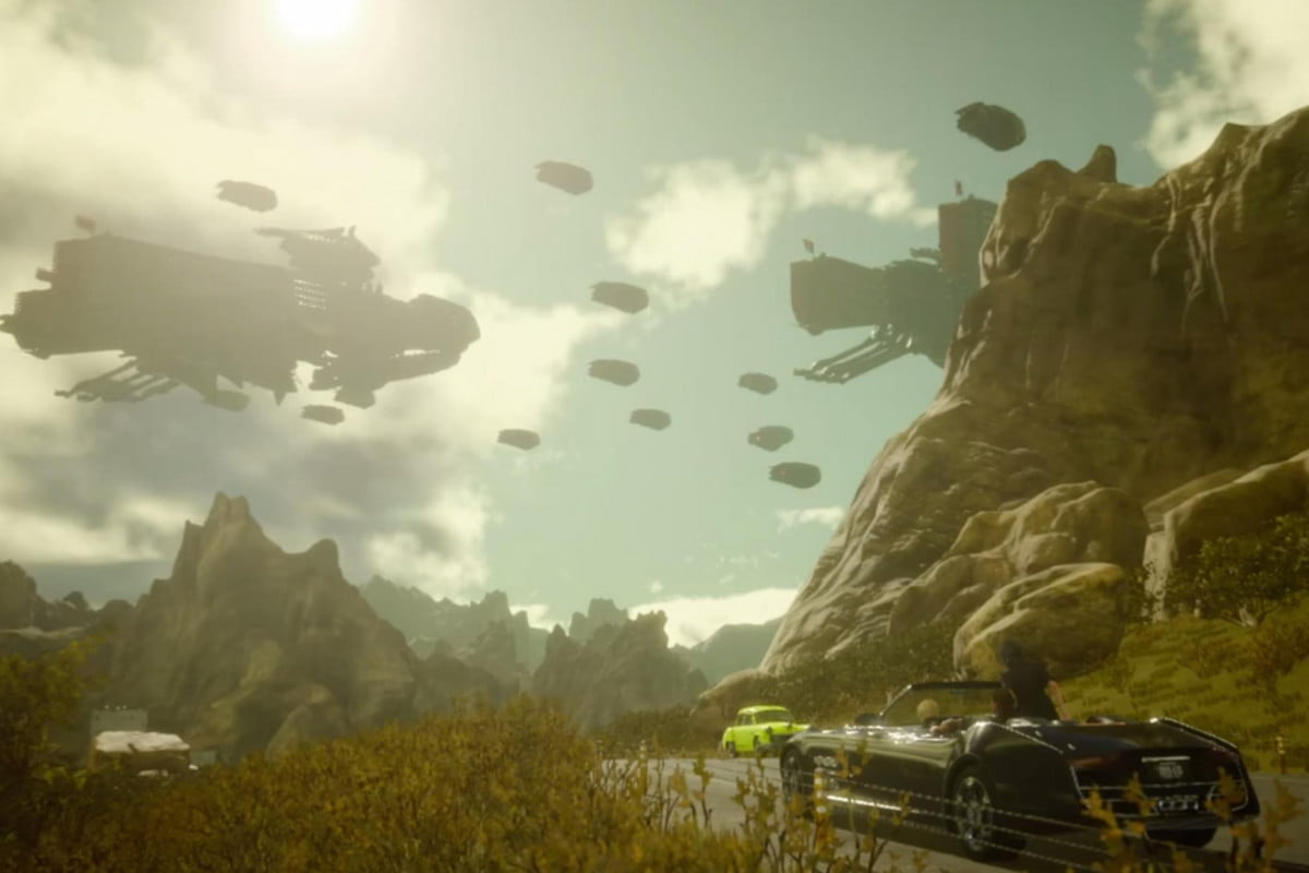 hit road another new ffxv trailer