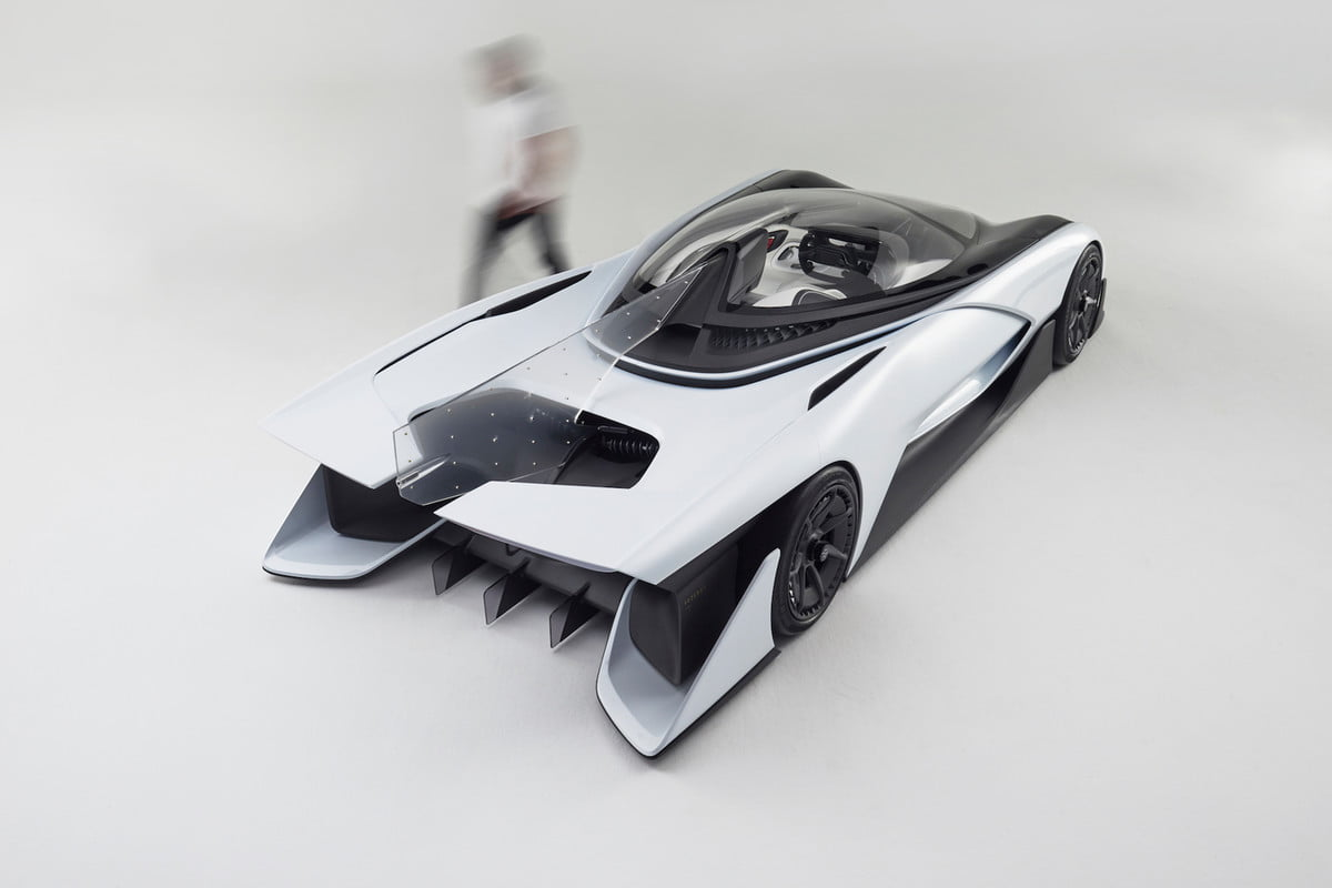 faraday future late on factory payments report says ffzero  concept