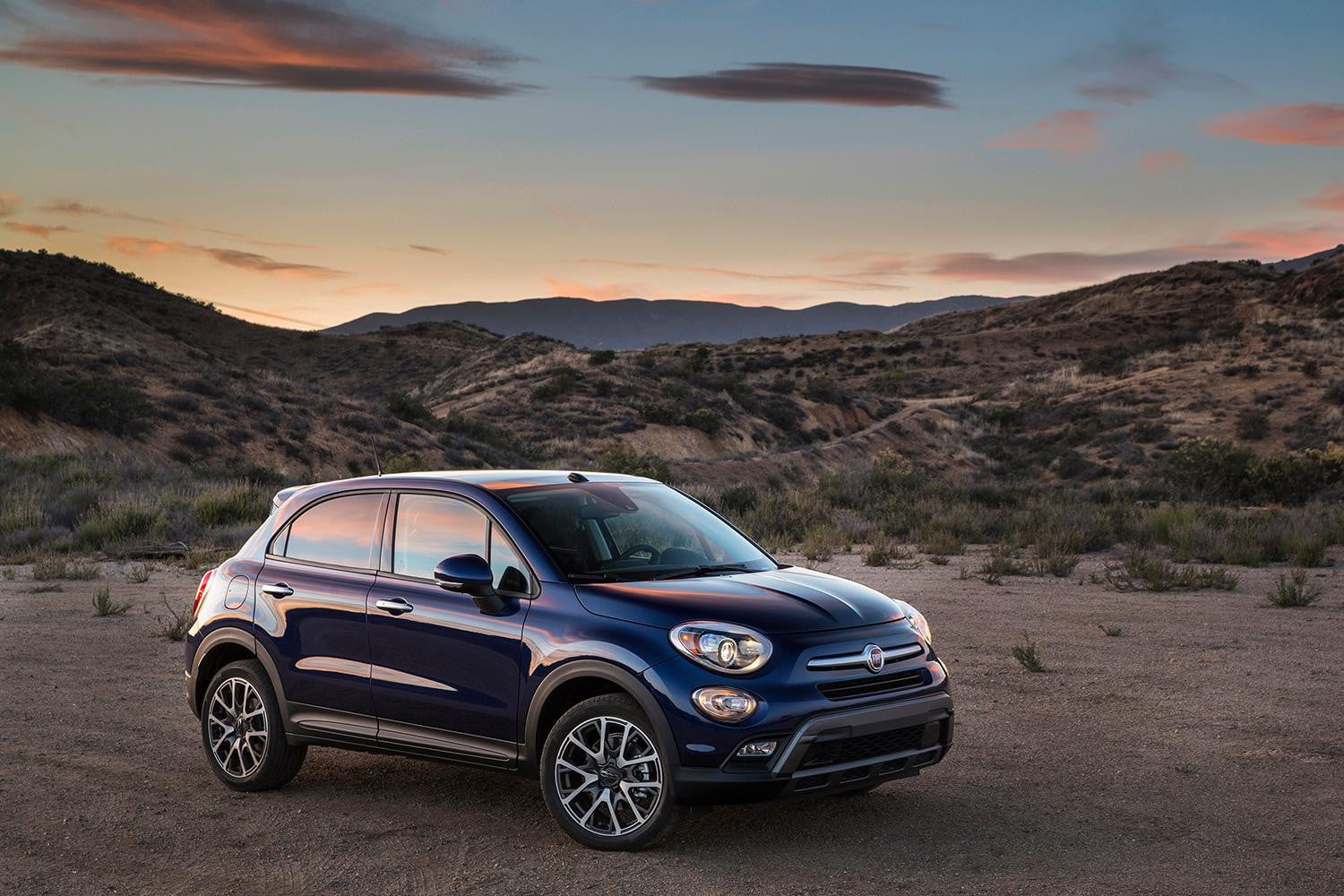 2016 fiat 500x first drive review digital trends. Black Bedroom Furniture Sets. Home Design Ideas