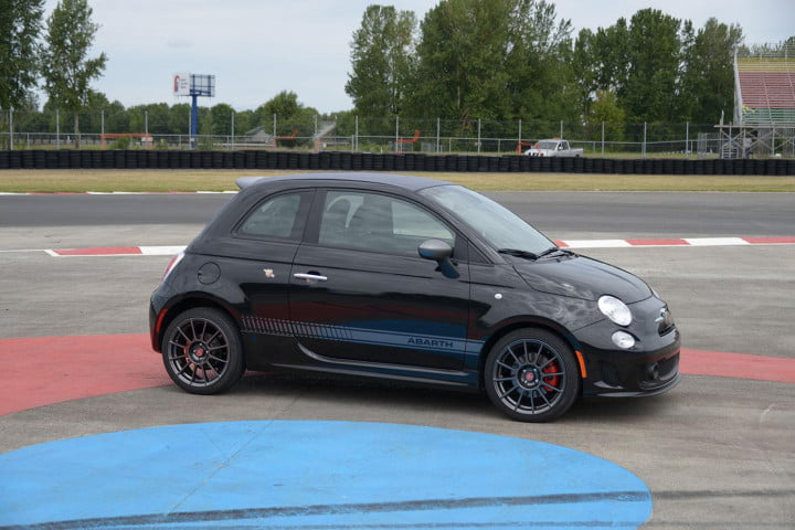 fiat abarth cabrio review right side angle