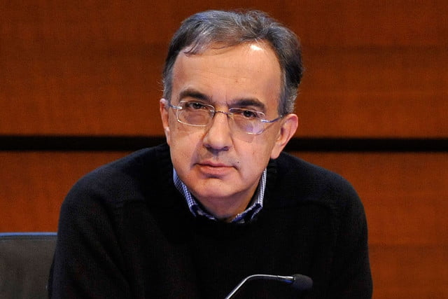 fiat chrysler ceo marchionne electric cars