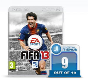 fifa 13 review soccer game xbox 360 playstation 3 pc psp vita wii