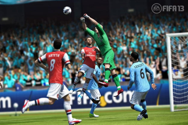 FIFA 13 screenshot goalie soccer xbox 360 playstation 3 wii psp ps vita pc