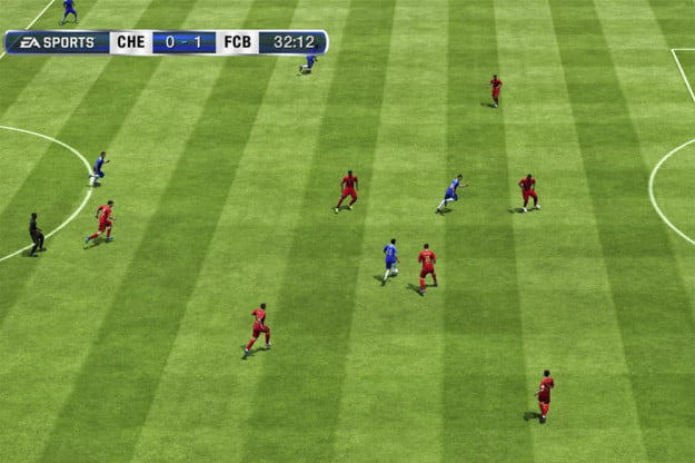 FIFA 13 screenshot pitch xbox 360 playstation 3 wii psp ps vita pc